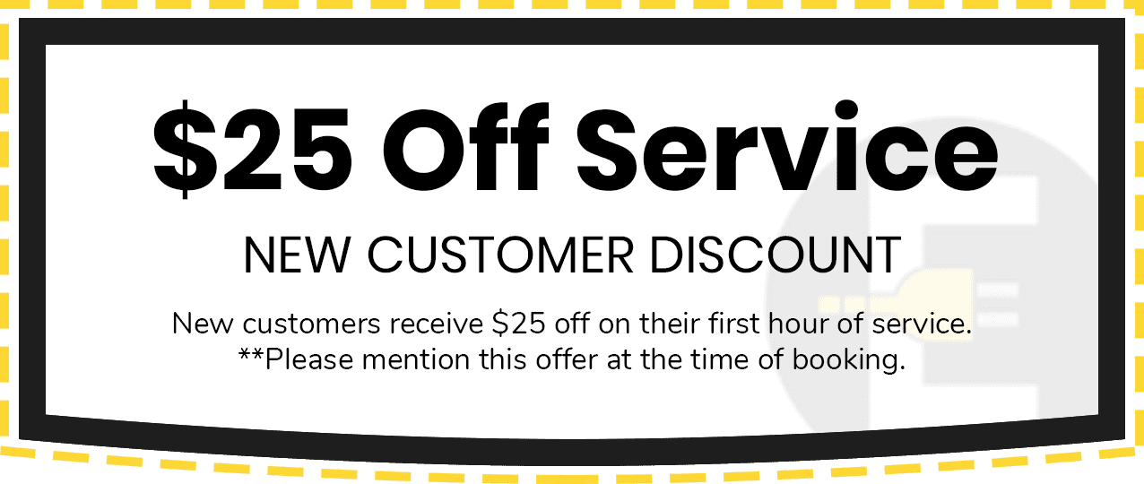 $25 Off Service